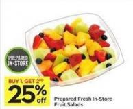 Prepared Fresh In-store Fruit Salads