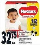 Huggies Diapers 92 - 180 Un.