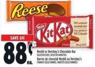 Nestlé Or Hershey's Chocolate Bar
