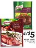 Knorr Sauces or Seasonings 22-44 g