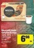 Nescafé Gold Origins K-cup - 12 Ct