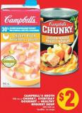 Campbell's Broth - 900 mL Or Chunky - Everyday Gourmet Or Healthy Request Soup - 500/540 mL