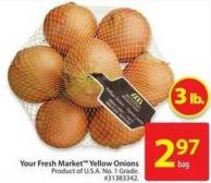 Your Fresh Market Yellow Onion