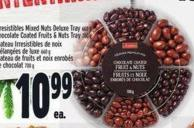 Irresistibles Mixed Nuts Deluxe Tray