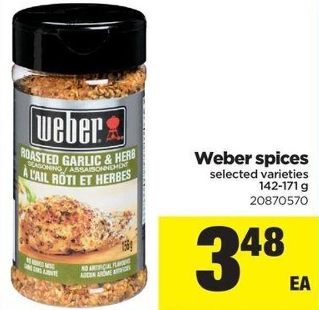 Weber Spices - 142-171 G