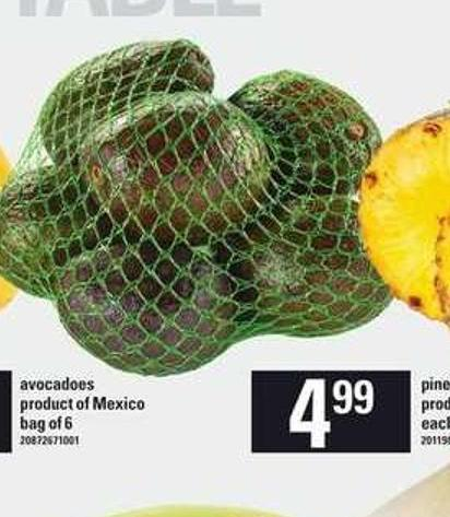 Avocadoes Bag Of 6
