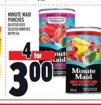 Minute Maid Punches