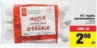 PC Maple Marshmallows - 400 g