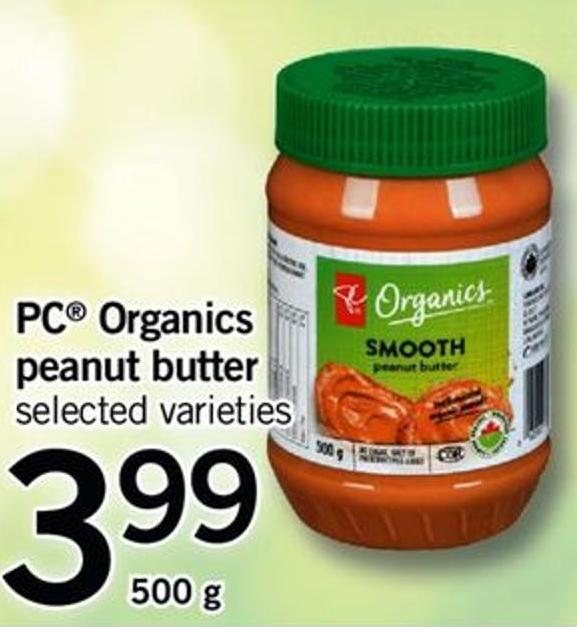 PC Organics Peanut Butter - 500 g