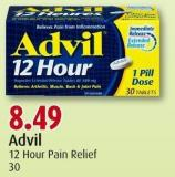Advil 12 Hour Pain Relief 30