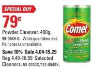 Comet Powder Cleanser