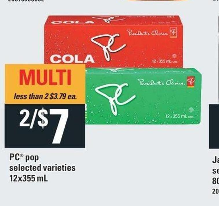 PC Pop - 12x355 mL