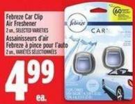 Febreze Car Clip Air Freshener 2 Un. -