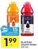 Glacéau Vitamin Water 591 mL - 15 Air Miles Bonus Miles