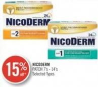 Nicoderm Patch 7's - 14's