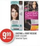 Casting or Root Rescue Hair Colour