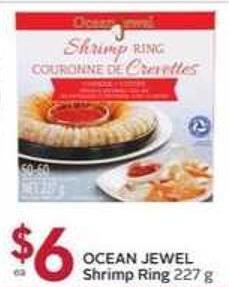 Ocean Jewel Shrimp Ring