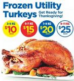 Frozen Utility Turkeys - 5-7 Kg