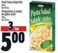 Kraft Pasta Salad Mix 200 g Or 1.99 Ea.