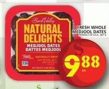 Fresh Whole Medjool Dates