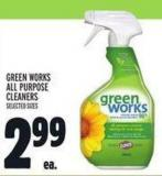 Green Works All Purpose Cleaners