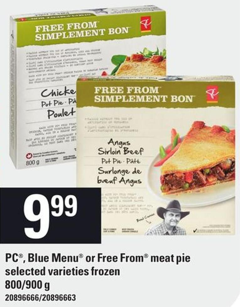 PC - Blue Menu Or Free From Meat Pie.800/900 g