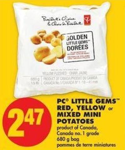 PC Little Gems Red - Yellow Or Mixed Mini Potatoes - 680 G Bag