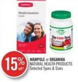 Wampole or Organika Natural Health Products