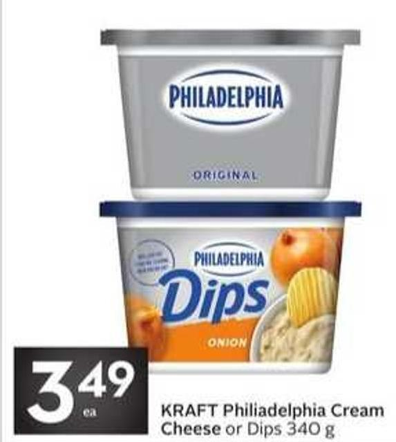 Kraft Philiadelphia Cream Cheese
