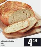 White Sliced Miche