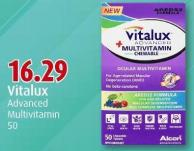 Vitalux Advanced Multivitamin 50
