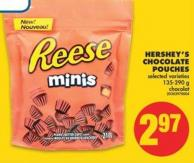 Hershey's Chocolate Pouches - 135-290 g