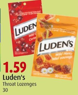 Luden's Throat Lozenges 30