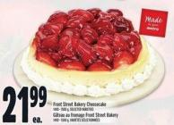 Front Street Bakery Cheesecake