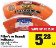Piller's Or Brandt Kolbassa - 250-375 g