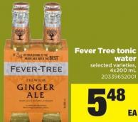 Fever-tree Tonic Water - 4x200 mL