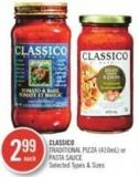 Classico  Traditional Pizza or Pasta Sauce (410ml)
