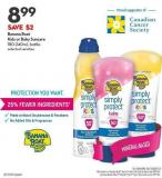 Banana Boat Kids or Baby Suncare 180-240ml Bottle