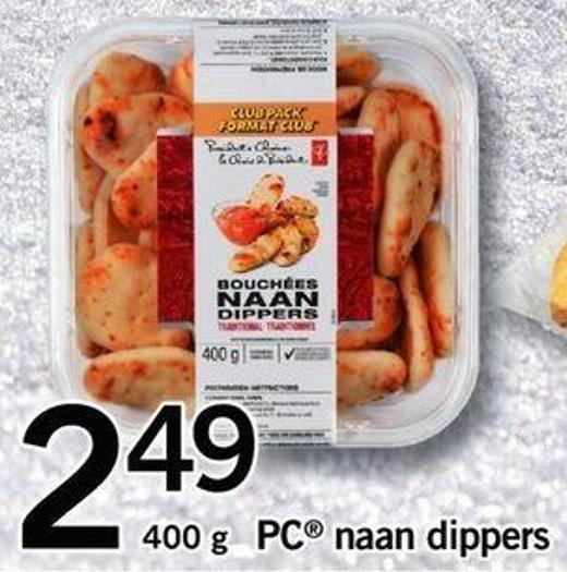 PC Naan Dippers - 400 G