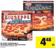 Dr. Oetker Tradizionale Or Giueseppe Rising Or Thin Crust Pizza - 370-785 g