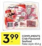 Compliments Crab-flavoured Seafood Flake Style 454 g