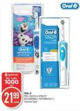 Oral-b Pro-health or Vitality Rechargable Toothbrush 1's