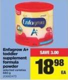 Enfagrow A+ Toddler Supplement Formula Powder - 680 g