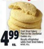 Front Street Bakery Plain Ice Box Shortbread Cookies 470 g
