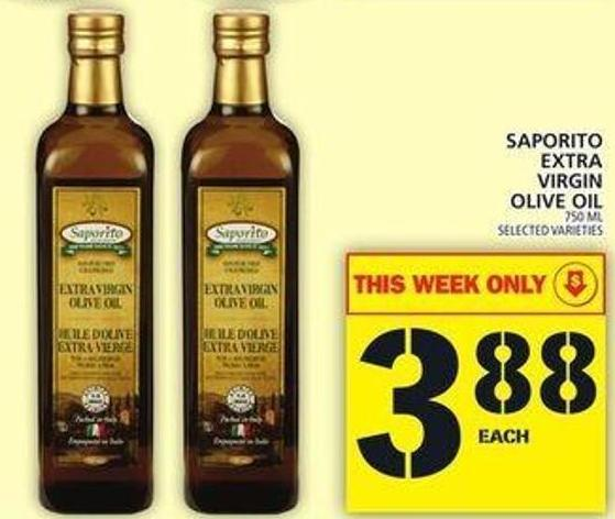 Saporito Extra Virgin Olive Oil