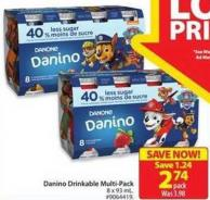 Danone Danino Drinkable Multi-pack