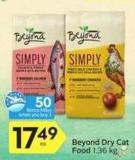 Beyond Dry Cat Food - 50 Air Miles Bonus Miles