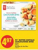 PC Butter Buffalo Cauliflower Bites - 454 g
