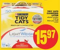Tidy Cats Clumping Litter - 5.44 Kg