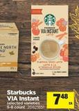 Starbucks Via Instant - 5-8 Count